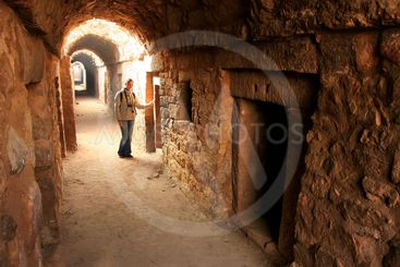 Underground tunnel, Tughlaqabad Fort, New Delhi