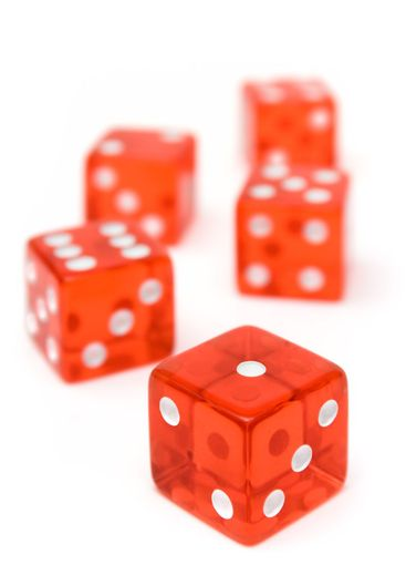 Bunch of Red Dice
