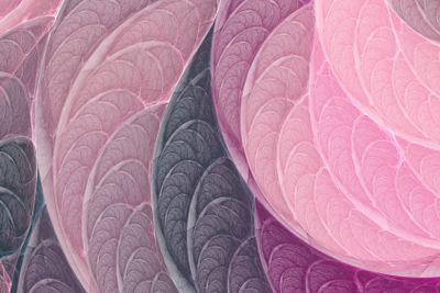 Pink-purple fractal background