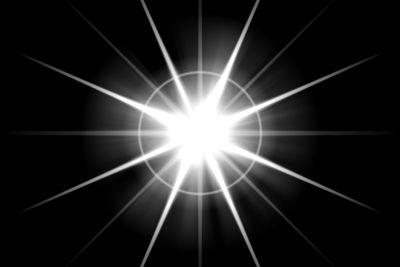 Bursting Lens Flare