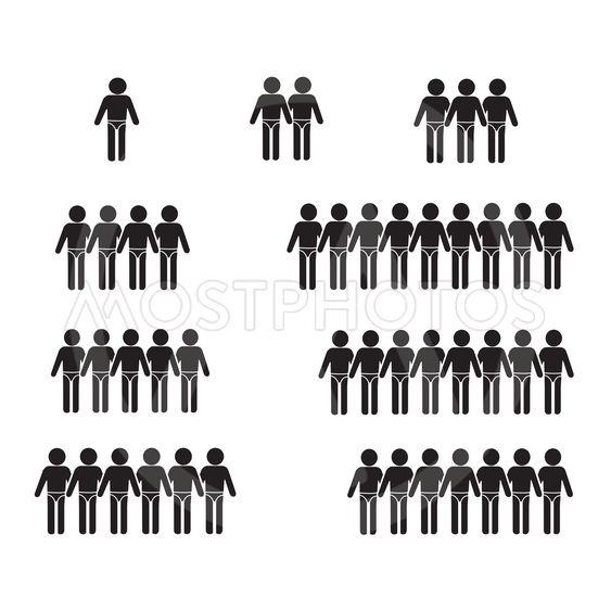 Swimming Suit People Icon Illustration design