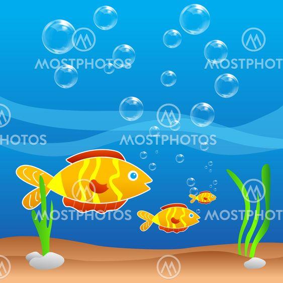 fisk i vand