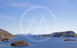 Fjord von Lyngsnes