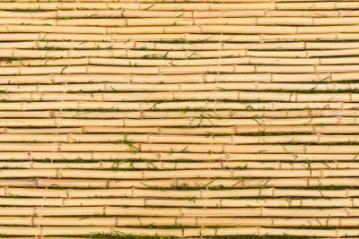Bamboo Mat with Horizontal Sticks