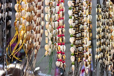 Group of shell bracelets