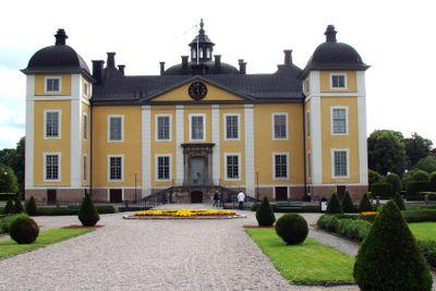 Srömsholms slott framsida