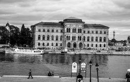 Nationalmuseum och kaknästornet.