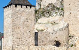 Ruins of Golubac Fortress at the Danube River, Serbia