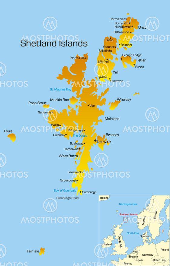 Shetlandsoarna Av Olinchuk Mostphotos