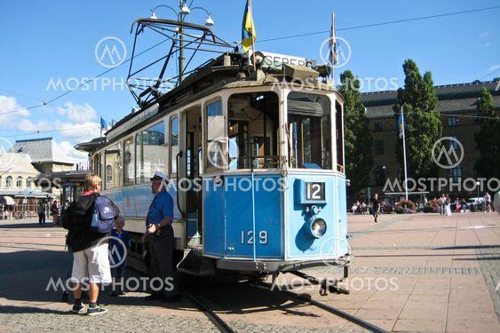 Sporvogn til forlystelsespark Liseberg