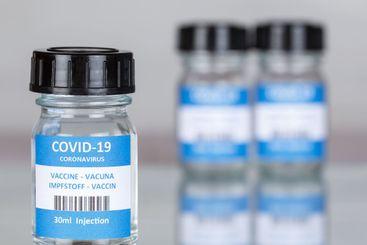 Coronavirus Vaccine bottle Corona Virus COVID-19 Covid...