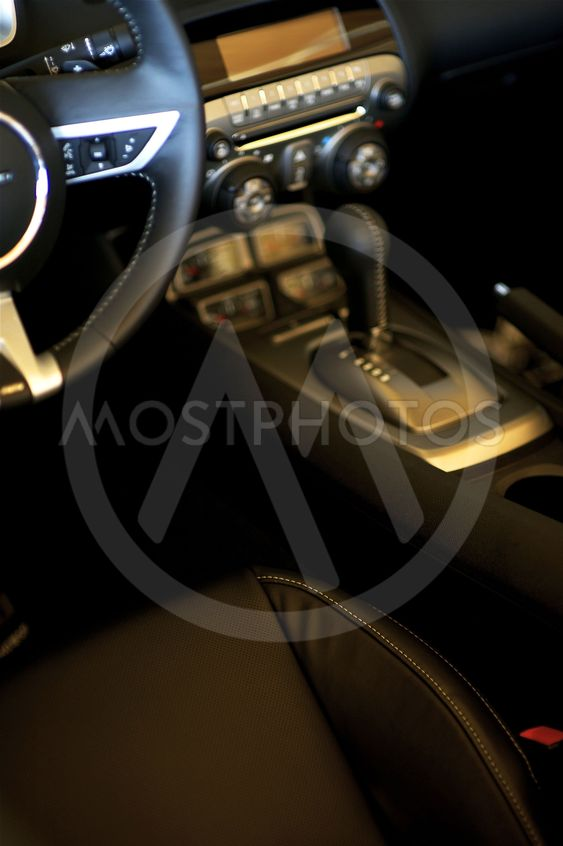 Sporty Car Interior