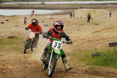 Motorcycle sport for children