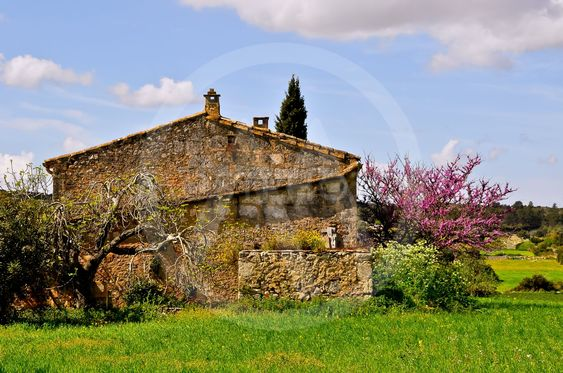 Old stonehouse in Mallorca