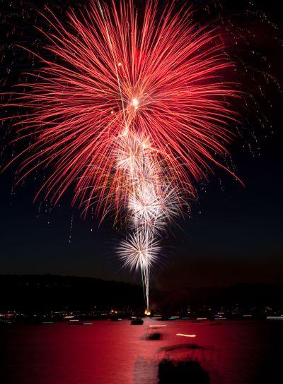 Large Red Fireworks