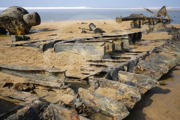 SHIPWRECK OF SS BELEM STEAMSHIP CORNWALL