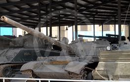 Tanks in the Military Museum, Beijing
