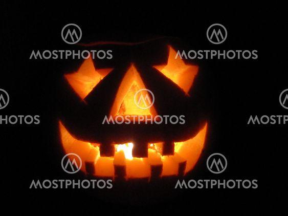 Ansigter græskar Halloween græskar: