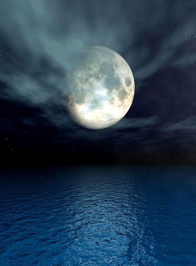 Moonlight Ocean Moonlight Ocean Moonlight Ocean