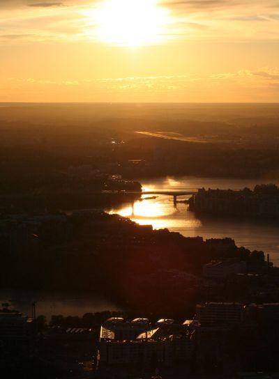 Sun over Stockholm