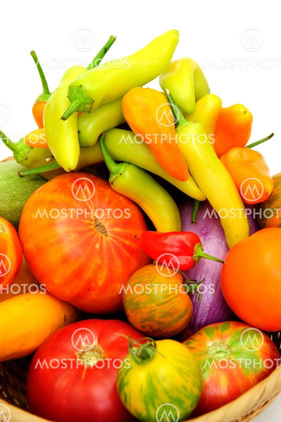 Hot Chilis And Tomatoes