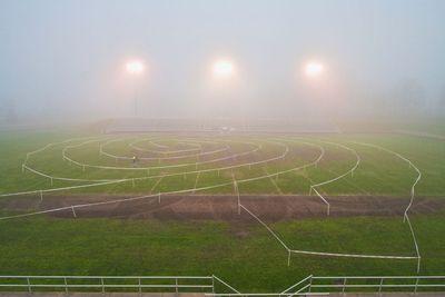 Foggy Cycling Maze