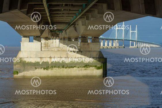 Second Severn Crossing, bridge over Bristol Channel...