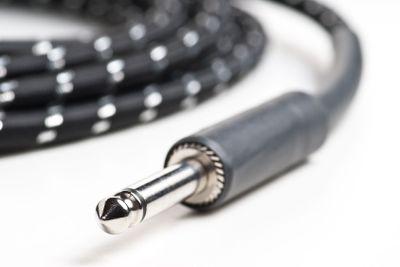 Retro guitar cable