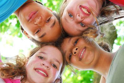 Four girls