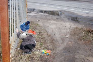 Spring in a provincial town, a little boy really wants...