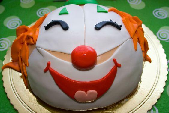 Clown kakku