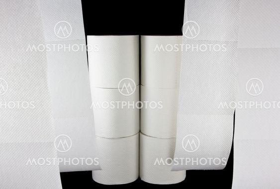 Toalettpapper fönster