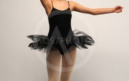 Young female ballet dancer