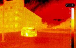 Thermal image car