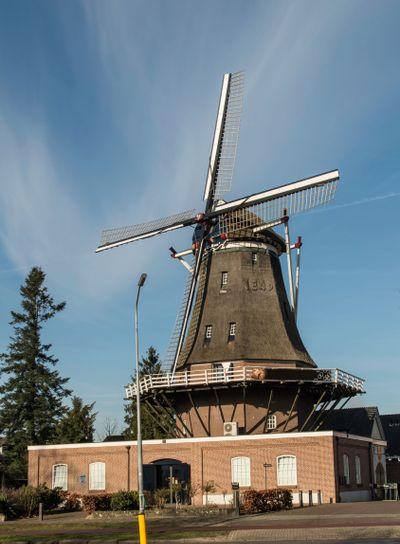 Duthc windmill in Arnhem