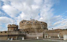 Details of Castel Santa'angelo