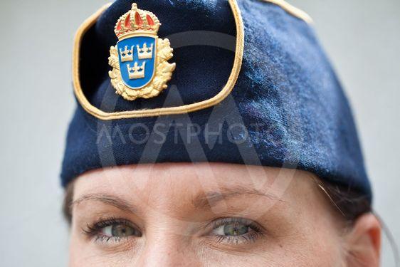 Kvinnlig polis