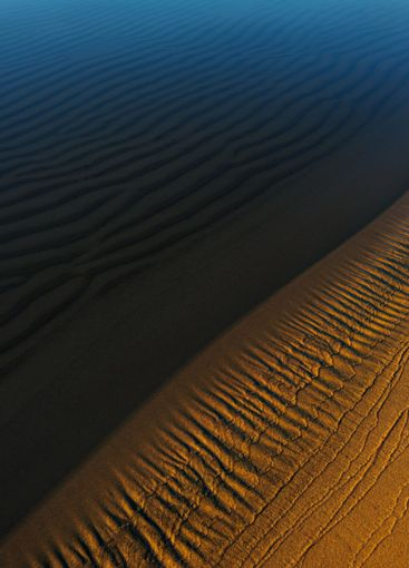 Sandy beach at Vita Sannar, Mellerud, Sweden, Europe