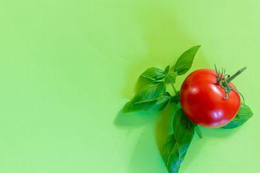 tomato and fresh basil