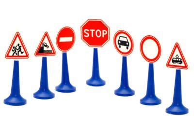 set road sign