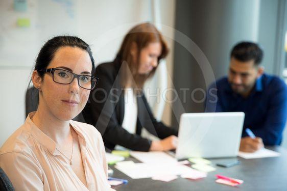 Porträttbild i Skandinaviskt kontor