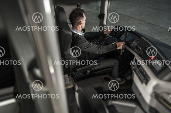 Public Transportation Bus Driver Profession