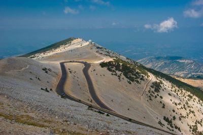 Am Mont Ventoux, Provence - At the Mont Ventoux, Provence