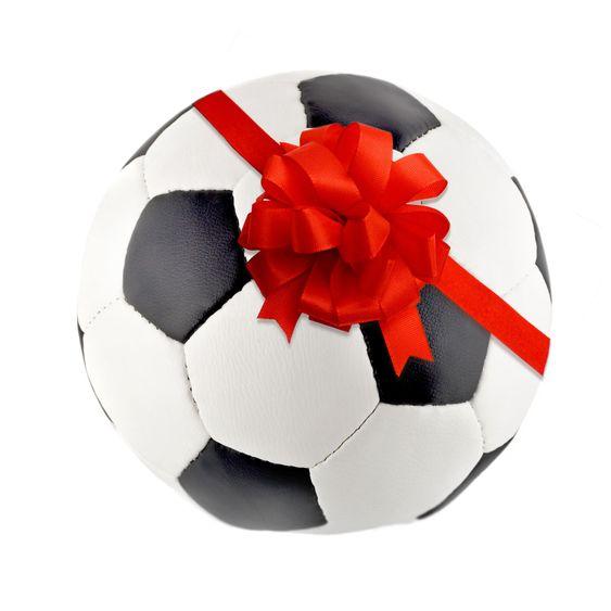 Ribbon Bow in Soccer ball