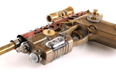 Steampunk Hand Cannon