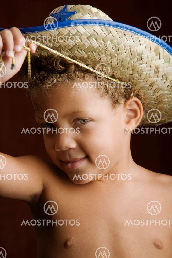 Sheriff Hat Little Boy