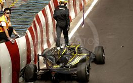 Krasch i F3 under Macau GP 2015