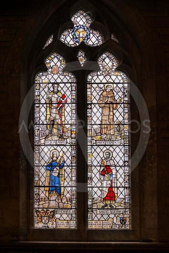 Stained Glass Window of Corsham Church