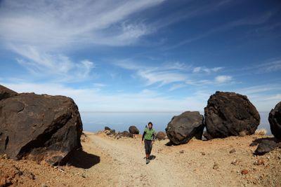 Hiking on Teide Tenerife