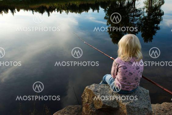 Ung fiskare